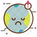 Pollution On Earth Icon