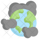 Earth Pollution Icon
