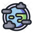 Earth Pollution Pollution Environment Icon