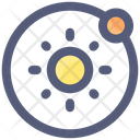 Sun Planet Orbit Icon