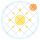 Earth Rotation Icon