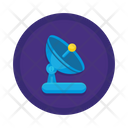 Earth Station Space Station Satellite Station Icon