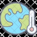 Earth Temperature Icon