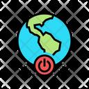 Earth Turnoff World World Shutdown Icon