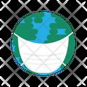 Earth Wear Mask Icon