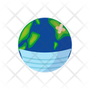 Earth Covid 19 Coronavirus Icon