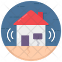 Earthquake Natural Disaster Apocalypse Icon