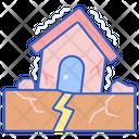 Earthquake Disaster Natural Distaster Icon