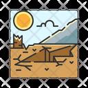 X Earthquake Icon