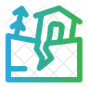 Earthquake Disaster Natural Disaster Icon