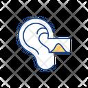 Earwax Buildup Ear Icon