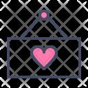 Easel Hanger Board Icon