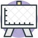 Easel Drafting Drawing Icon