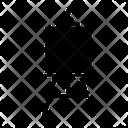 Easel Frame Tripod Icon