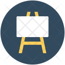 Easel Board Advertisement Icon
