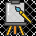 Whiteboard Chalkboard Blackboard Icon