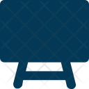 Easel Art Board Icon