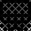 Easel Whiteboard Canvas Icon