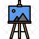 Easel Picture Painting Icon