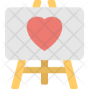 Easel Board Icon