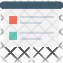 Easel Board Checklist Icon