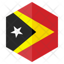 Timor Flag Country Icon