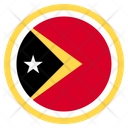 East Timor Country National Icon