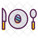 Easter Egg Meal Icon