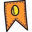 Easter Coupon Ticket Icon