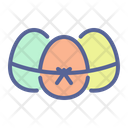 Egg Paschal Gift Icon