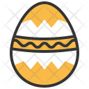Easter Egg Holiday Icon