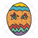 Easter Decorated Egg Icon