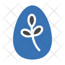 Easter Egg Yolk Icon