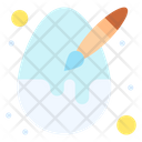 Easter Decoration Egg Icon