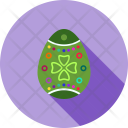 Easter Egg Decoration Icon