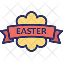 Easter Easter Badge Easter Label Icon