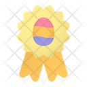 Easter Badge Icon