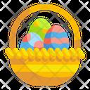 Easter Basket Basket Supermarket Icon