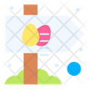 Easter Board Easter Egg Icon