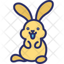 Easter Bunny Easter Hare Easter Rabbit Icon