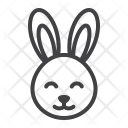 Easter Rabbit Bunny Icon