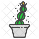 Easter cactus Icon