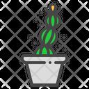 Easter Cactus Succulent Icon