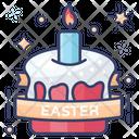 Easter Cake Cream Cake Dessert Icon