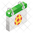 Easter Calendar Appointment Schedule Icon