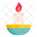 Easter Candle Icon
