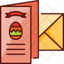 Easter Card Egg Happy Easter Icon
