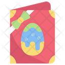 Easter Invitation Card Pass Icon