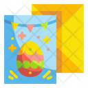Easter Card Easter Invention Card Icon