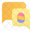 Easter Chat Icon